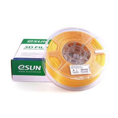 Filament eSUN 1kg PLA+ 1,75mm för 3D-skrivare guld, extra stark