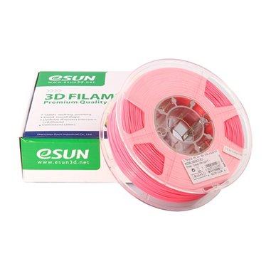 Filament eSUN 1kg PLA+ 1,75mm för 3D-skrivare rosa, extra stark