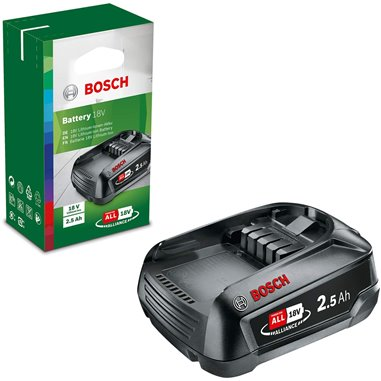 Batteri Bosch (original) 18V Li-Ion 2.5A PBA18