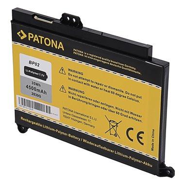 Batteri för HP Pavilion 15-AU 15-AW BP02 BP02XL 4500mAh