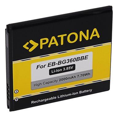 Batteri för Samsung Galaxy Core Prime EB-BG360BBE EB-BG360CBC 2000mAh