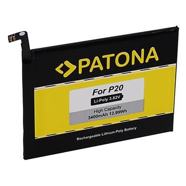 Batteri för Huawei P20 HB396285ECW EML-AL00 3400mAh
