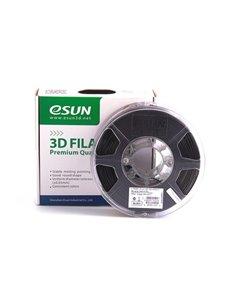 Filament eSUN 1kg PLA+ 1,75mm för 3D-skrivare svart, extra stark