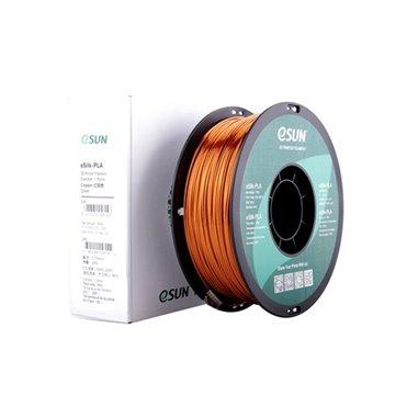 Filament eSUN 1kg eSilk PLA 1,75mm för 3D-skrivare glänsande koppar