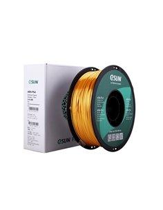 Filament eSUN 1kg eSilk PLA 1,75mm för 3D-skrivare glänsande guld