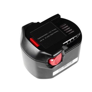 Batteri för AEG 12V Ni-MH 2000mAh B1214G B1215R B1220R